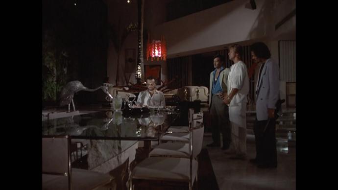 Every crime boss in Miami Vice has wild interior design taste