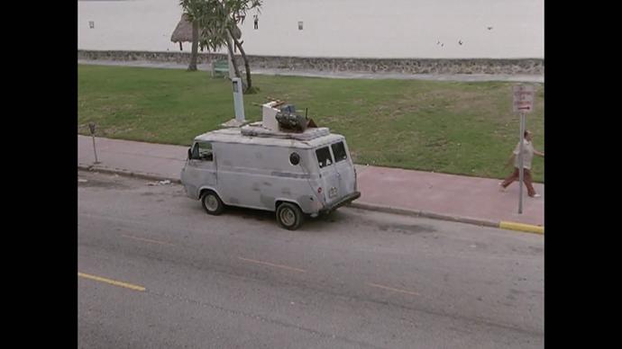 A Not Suspicious Van