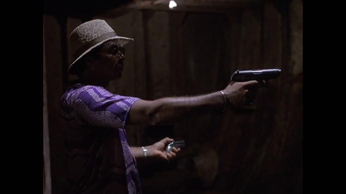 Tubb's gun choices never fail to make me laugh, honestly