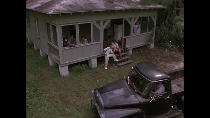 Both Clem's truck and this house are Very Cute