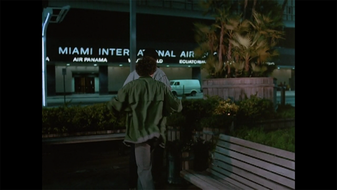 I love Miami International's sign, even
