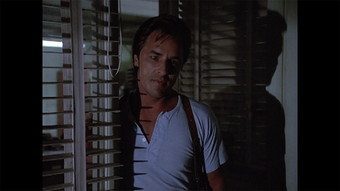 Miami Vice, always using blinds to great visual effect