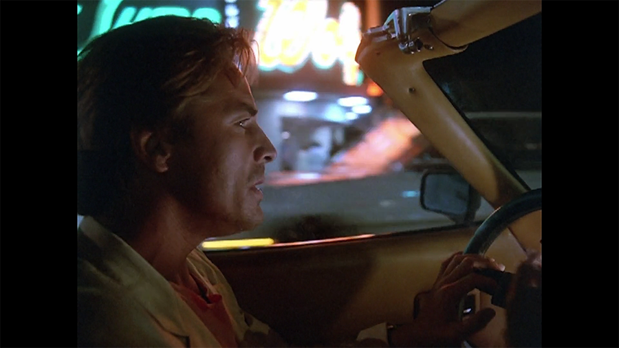 Crockett, doing his thoughtful driving