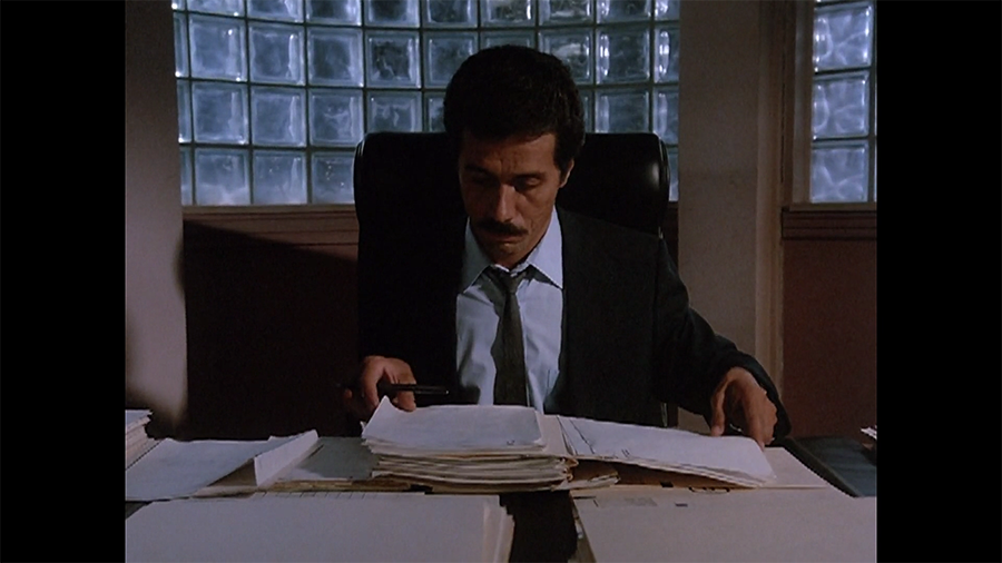Castillo, doing his thoughtful filing