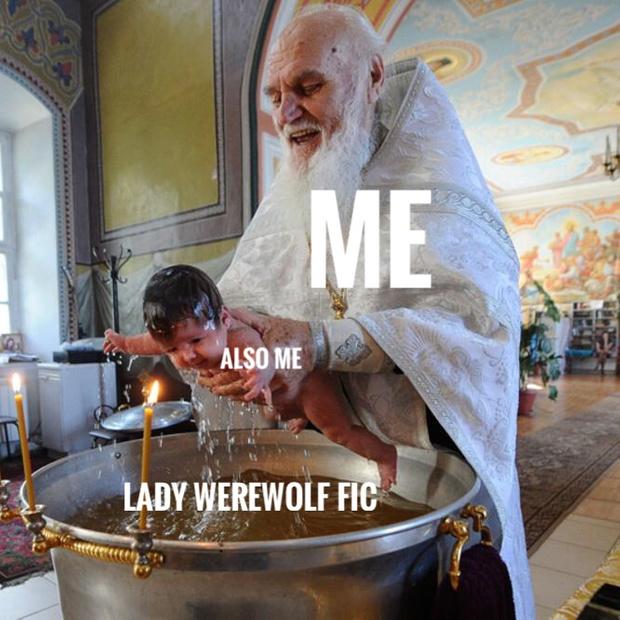 Meme image about avoiding writing process.