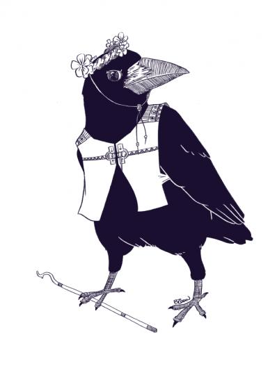 RPG Races: crow
